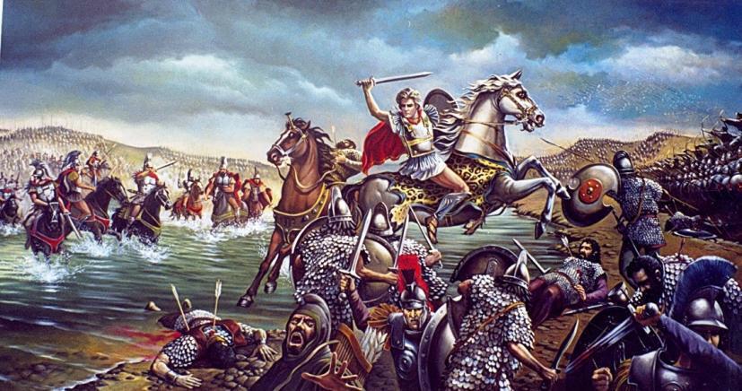 Μέγας Αλέξανδρος….η μάχη του Γρανικού ποταμού (22 Μαΐου 334 π.Χ.)