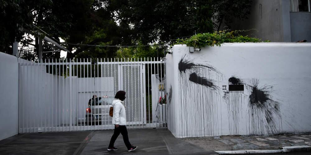 Ο Ρουβίκωνας ανέλαβε την ευθύνη για την καταδρομική επίθεση στο σπίτι του Πάιατ (BINTEO)