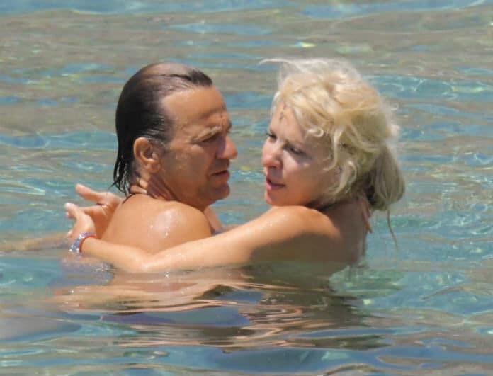 202d26459ed Ελένη Μενεγάκη - Ματέο Παντζόπουλος: Τα παθιασμένα φιλιά του ...