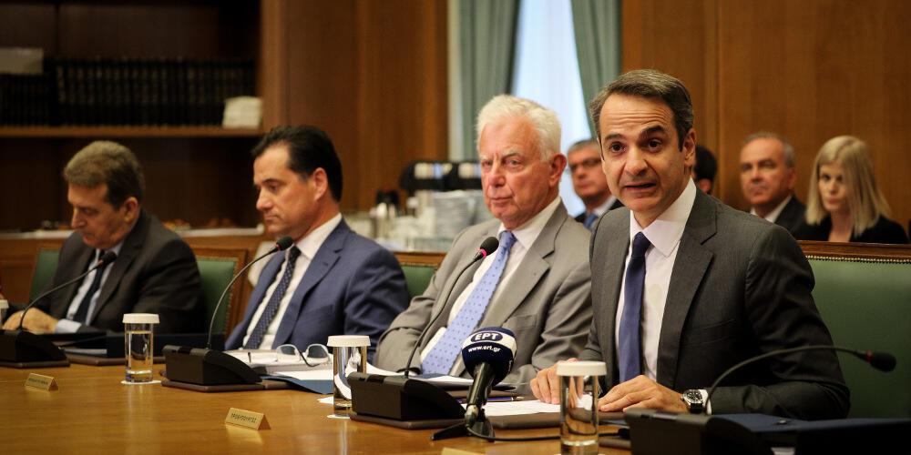 Μητσοτάκης στο υπουργικό συμβούλιο: Μπορούμε να αλλάξουμε την Ελλάδα με δουλειά και ήθος